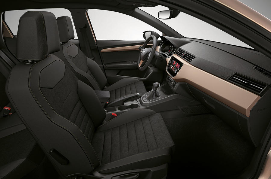 2017 Seat Ibiza revealed interior from angle