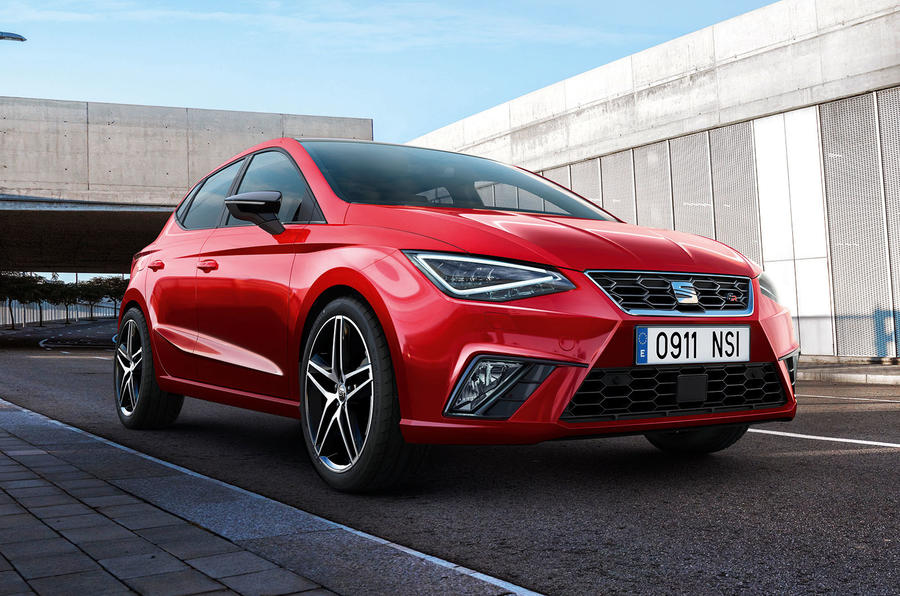 2017 Seat Ibiza revealed headlights