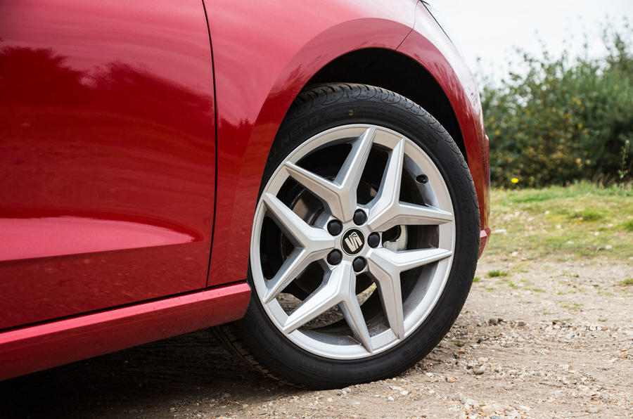 Seat Ibiza alloy wheels