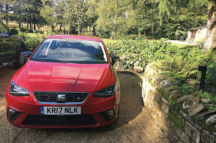 Seat Ibiza in Cumbria