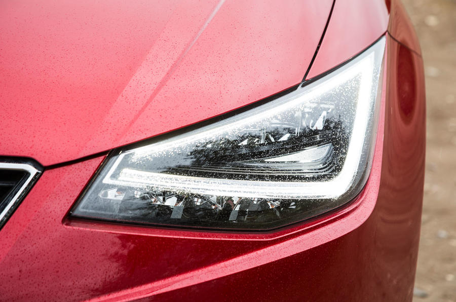 Seat Ibiza LED headlights
