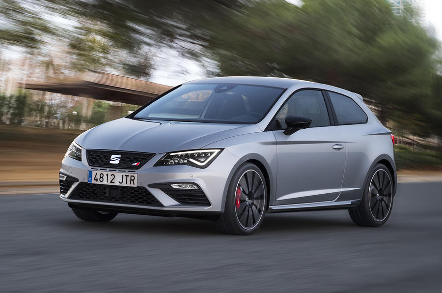 2017 seat leon cupra 300 review autocar. Black Bedroom Furniture Sets. Home Design Ideas
