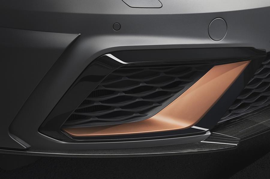 Seat Leon Cupra R front air intake