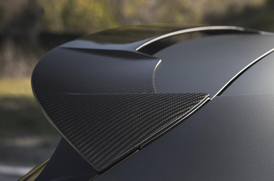 Seat Leon Cupra R rear spoiler