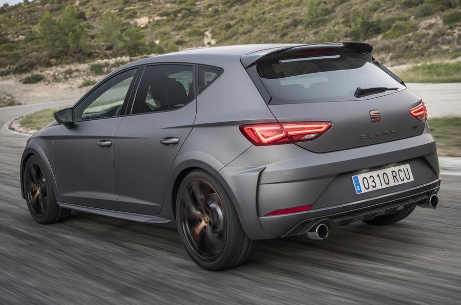 Seat Leon Cupra R rear