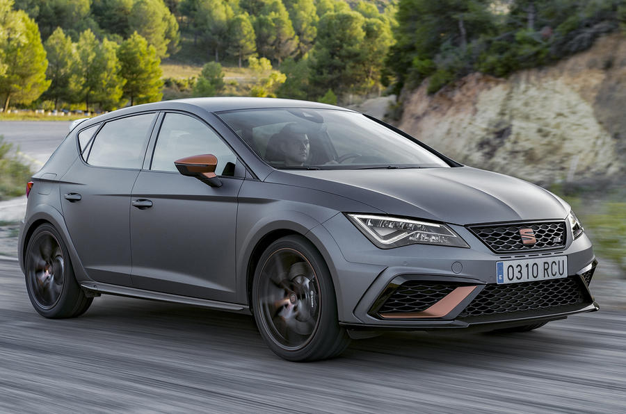 seat leon cupra r 2017 review autocar. Black Bedroom Furniture Sets. Home Design Ideas