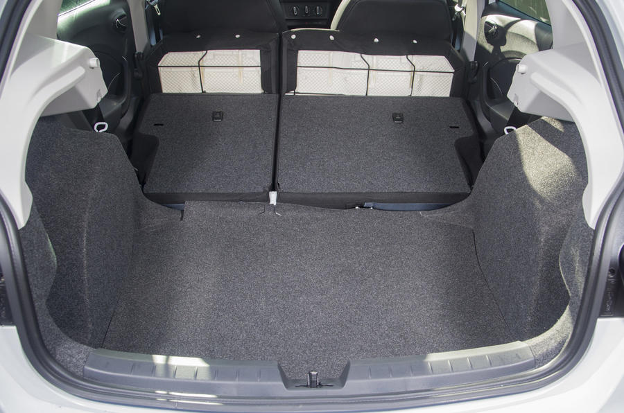 Seat Ibiza extended boot space