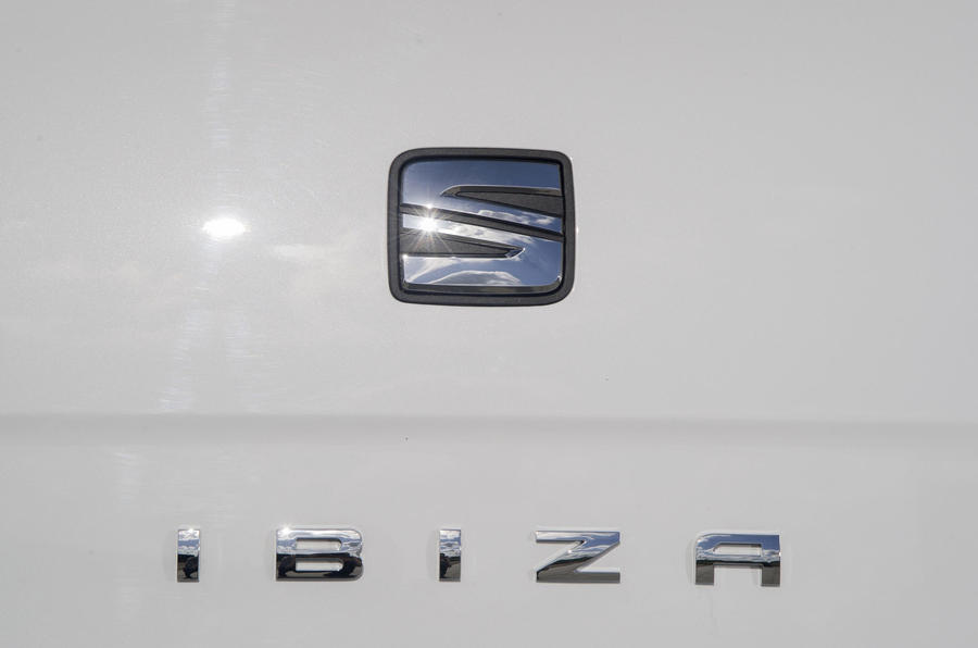 Seat Ibiza badging