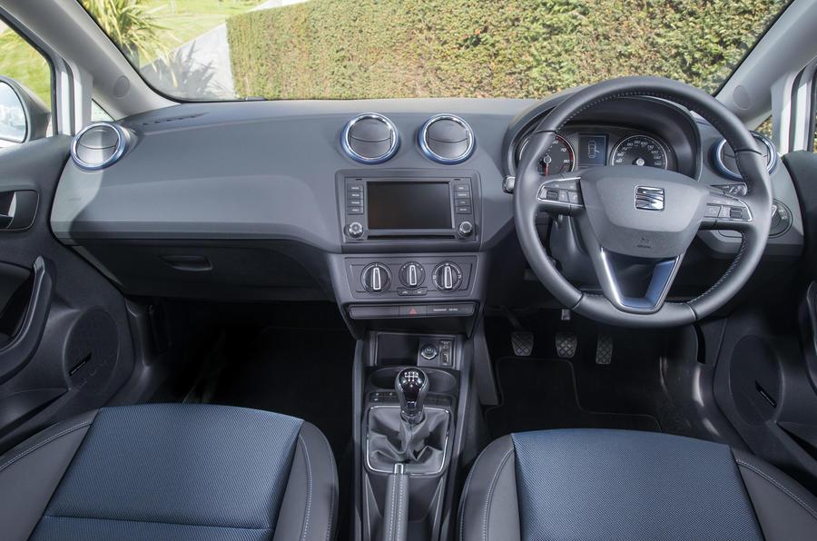 Seat Ibiza SE dashboard