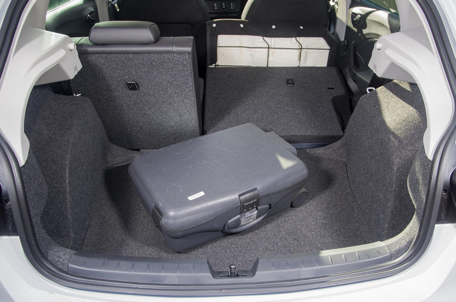 Seat Ibiza seating flexibility