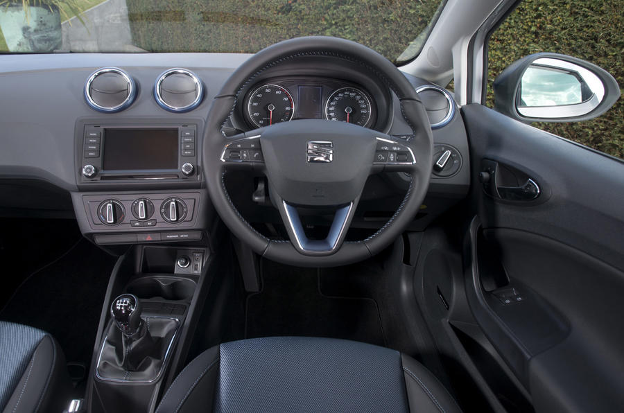 Seat Ibiza SE driver's seat