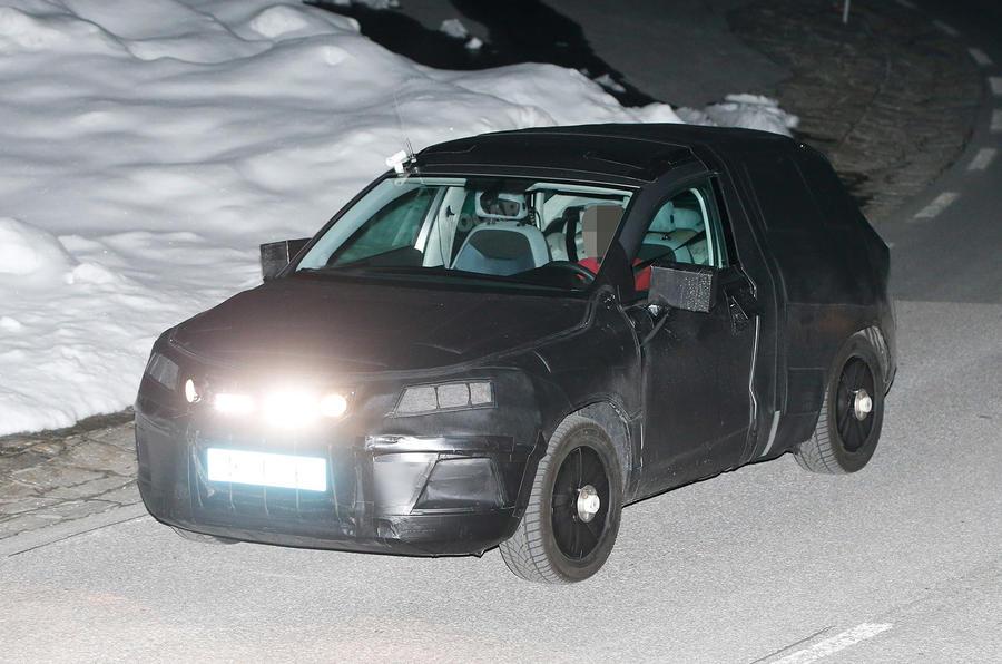 Seat SUV spy