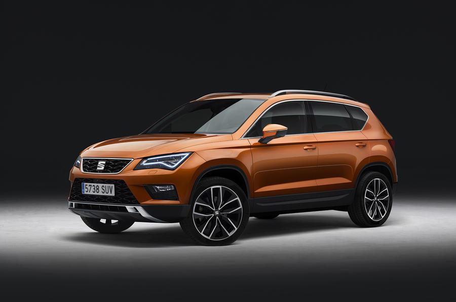Seat Ateca front revealed