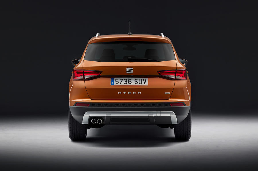 Seat Ateca rear revealed