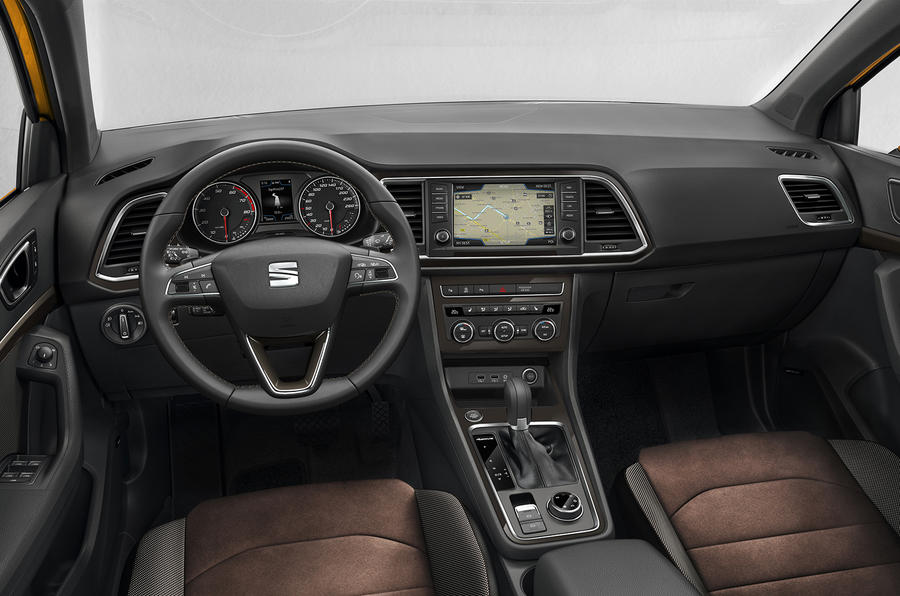 Seat Ateca interior revealed