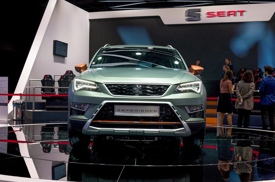 The new SEAT Ateca X-PERIENCE