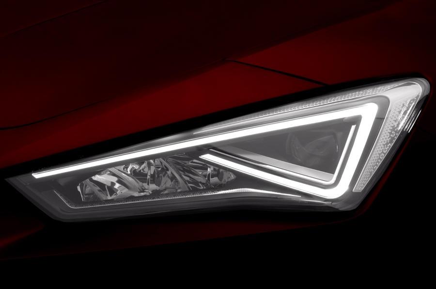 Seat Leon headlights