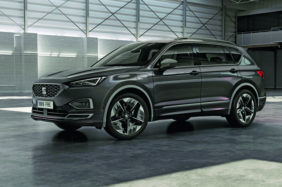 Seat Tarraco FR plug-in hybrid - static front