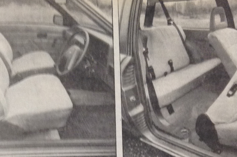 1980 Ford Escort Estate 1.6 L folding seats
