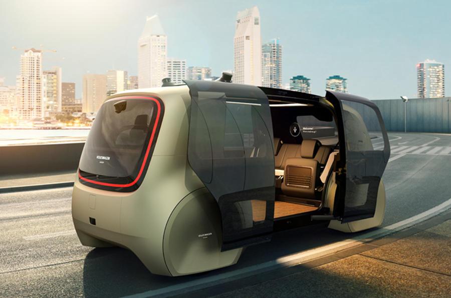 Self-driving Volkswagen
