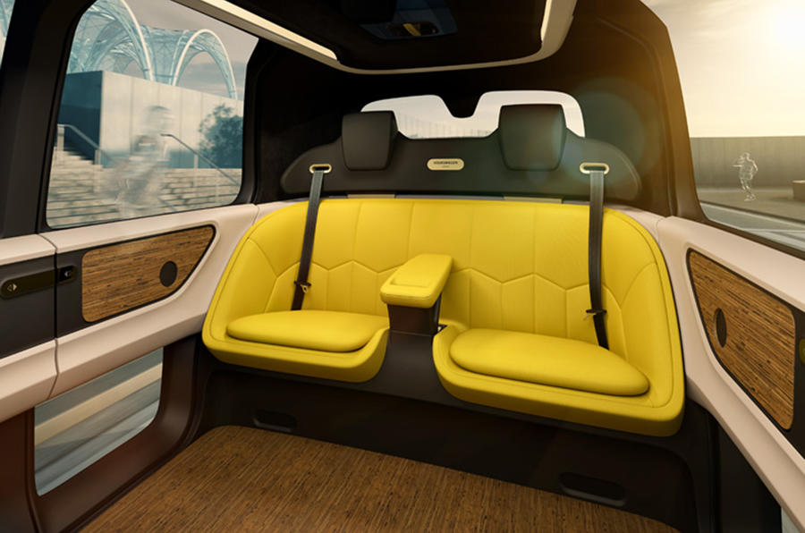 volkswagen sedric concept previews  driving pod  vehicle autocar