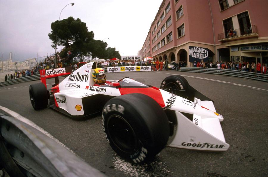 Ayrton Senna McLaren Monaco