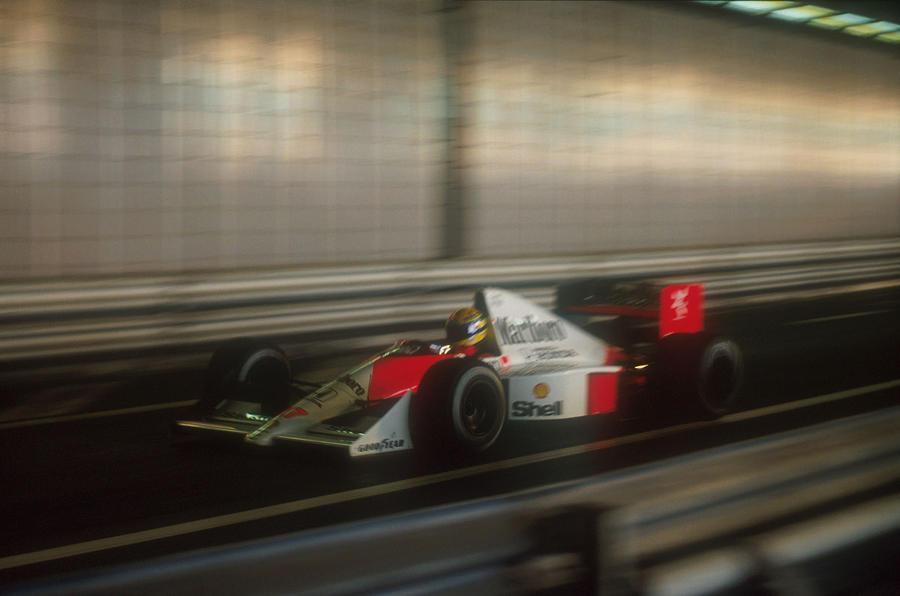 Ayrton Senna McLaren pole position