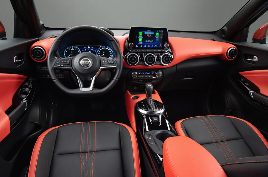 2020 Nissan Juke reveal - interior