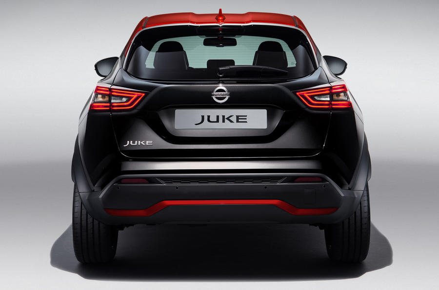 2020 Nissan Juke reveal - static rear