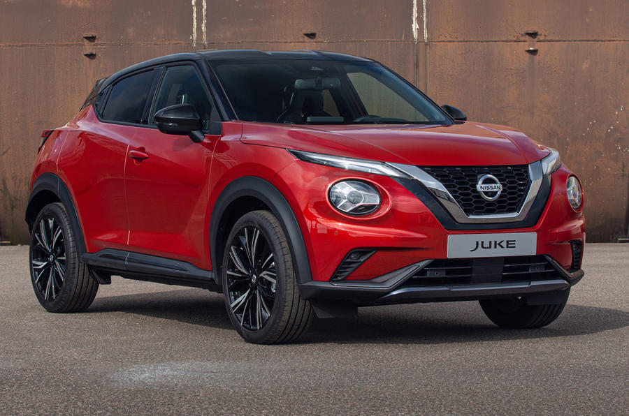 2020 Nissan Juke reveal - static front