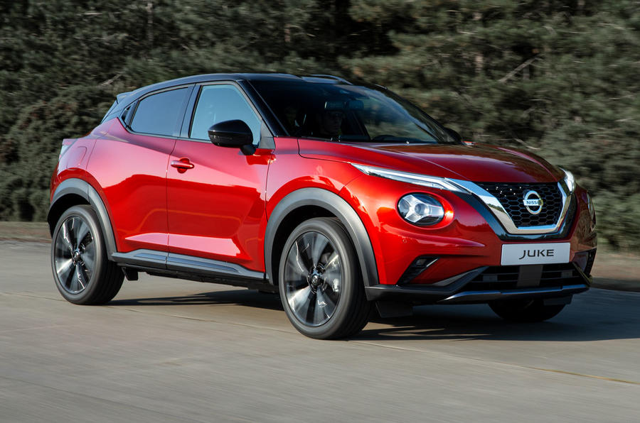 2020 Nissan Juke reveal - hero front
