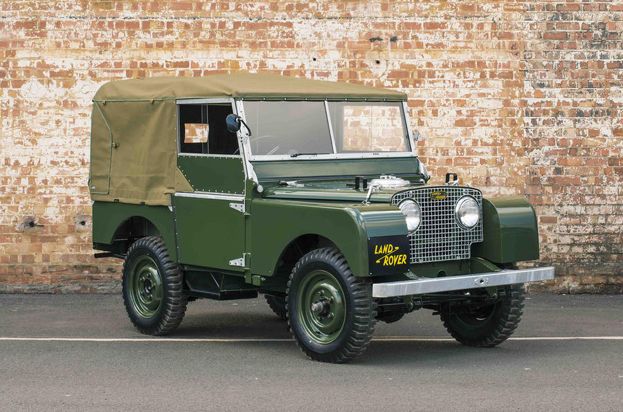 Land Rover Series 1 restored