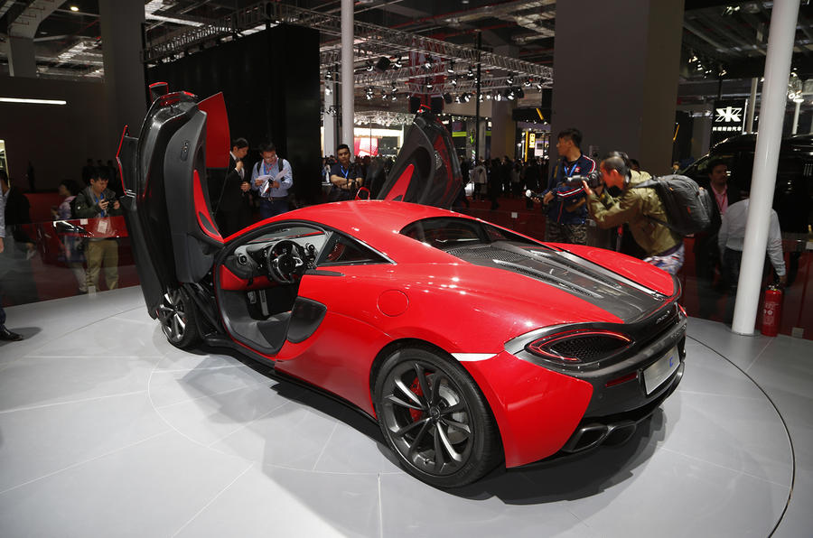 Most Affordable Sports Cars >> New £126k McLaren 540C launched at Shanghai show   Autocar