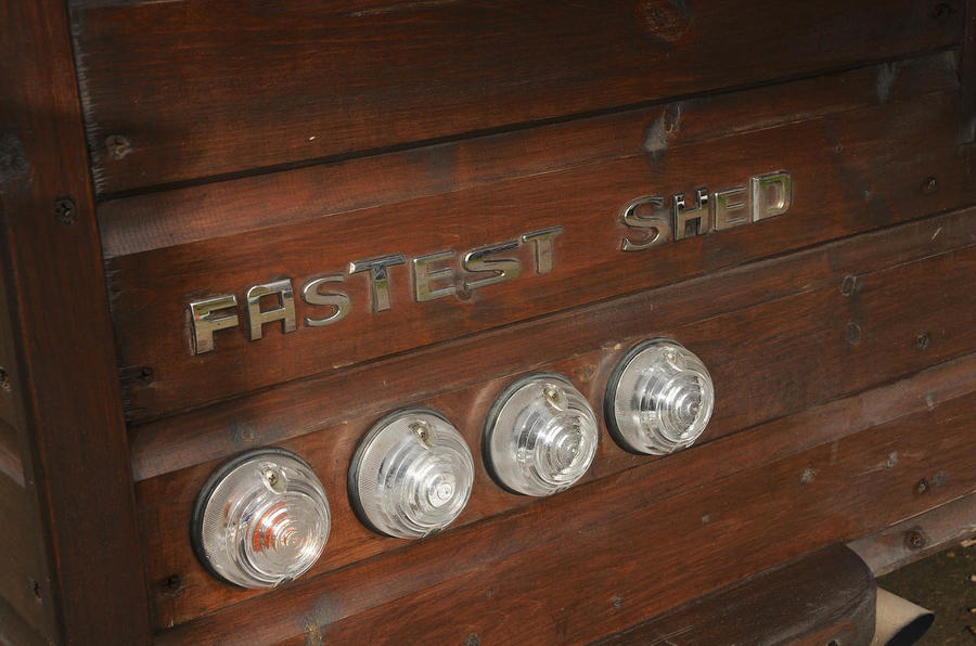 The world's fastest shed