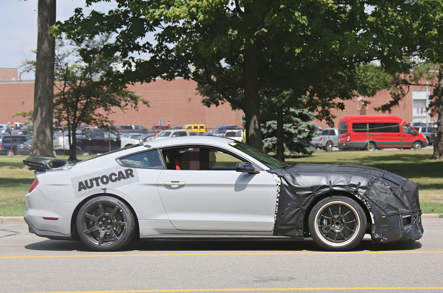 Ford Shelby GT500 Mustang mue