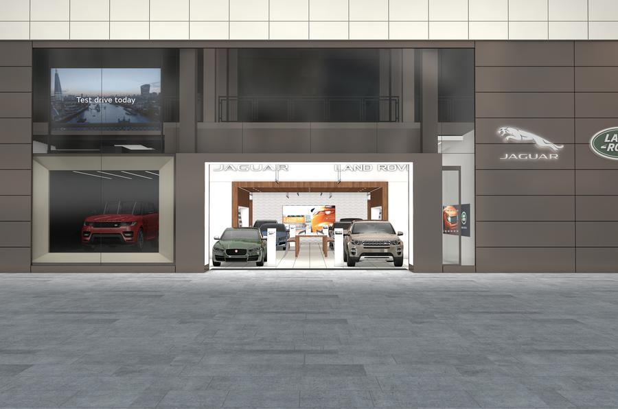 Jaguar Land Rover to open Rockar store