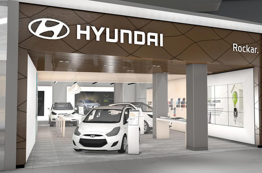Car Buying Sites >> Second Rockar Hyundai digital car store opens in London | Autocar