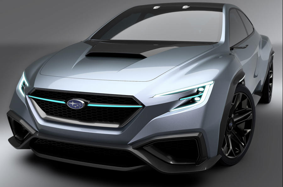 Subaru Viziv Performance Concept Is Like A WRX From The Future
