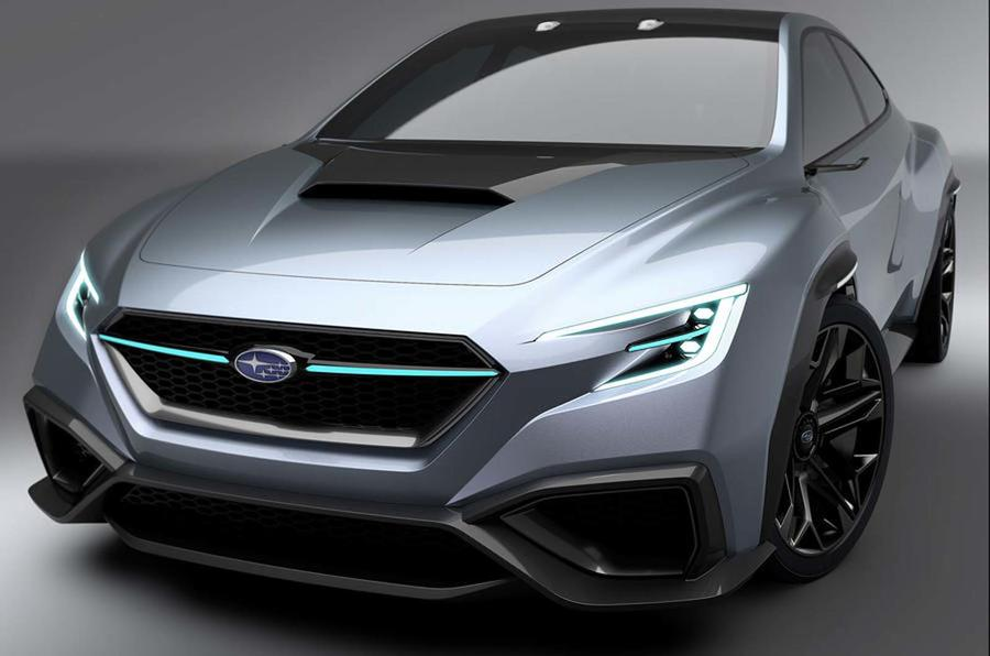 The Subaru Viziv Performance Concept