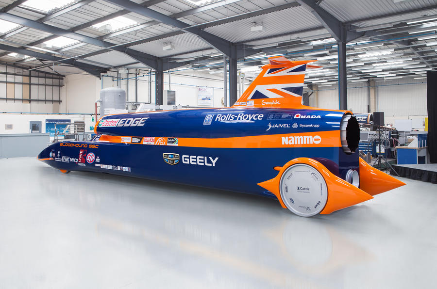 Bloodhound SSC and Geely