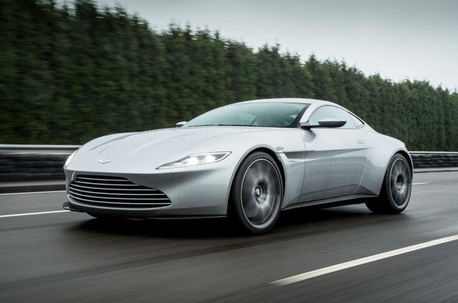 How little the front of the Vantage looks like the DB10