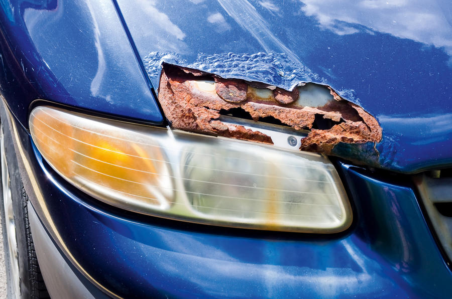 Rust headlight