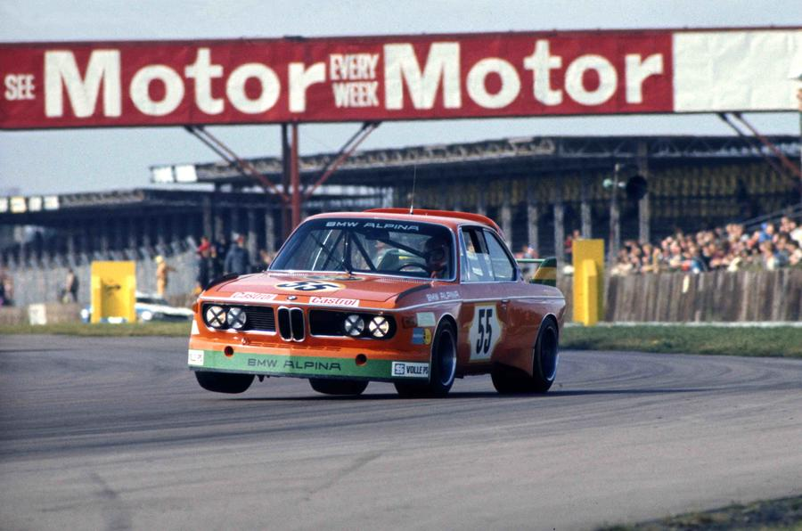 Derek Bell and Harald Ertl captured 1973 TT race win at Silverstone in a BMW 3.0 CSL