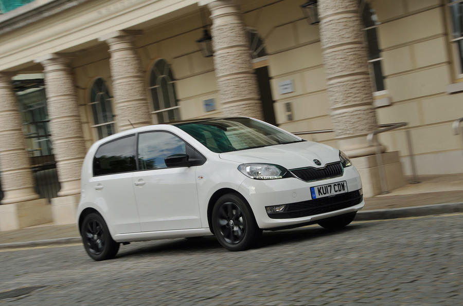 Four-star Skoda Citigo