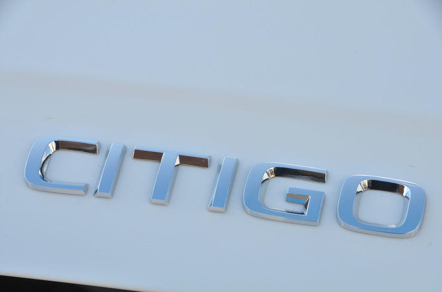 Skoda Citigo badging