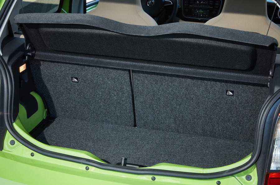 Skoda Citigo boot space