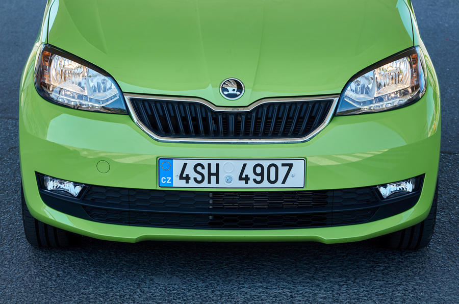 Skoda Citigo revised front end