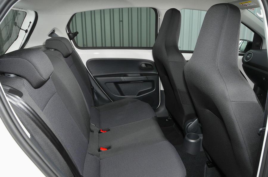 Skoda Citigo rear seats