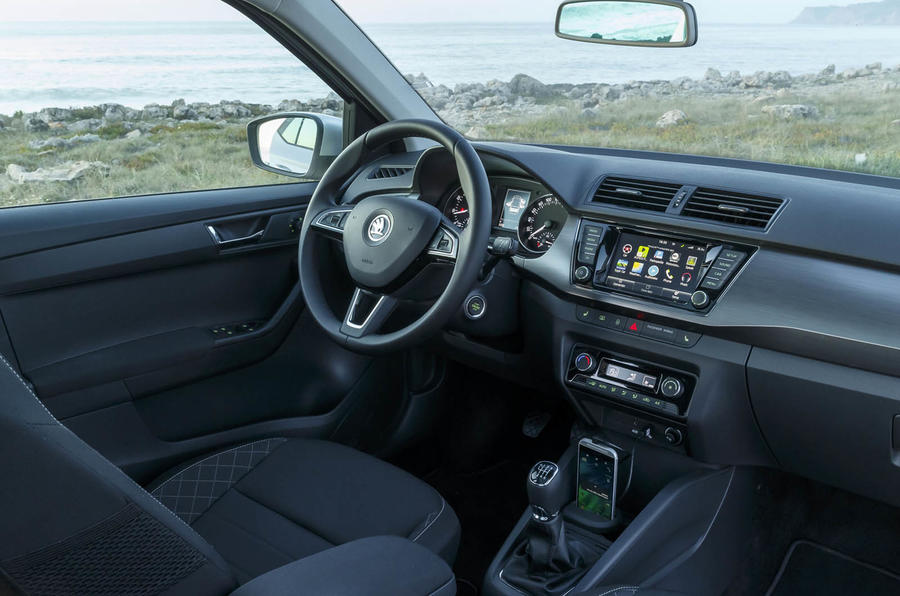 Skoda Fabia estate interior