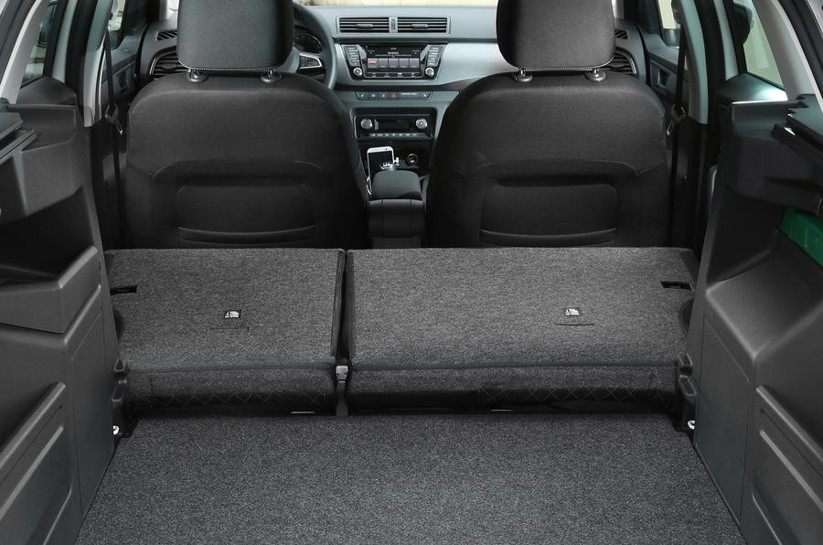 Skoda Fabia estate extended boot space